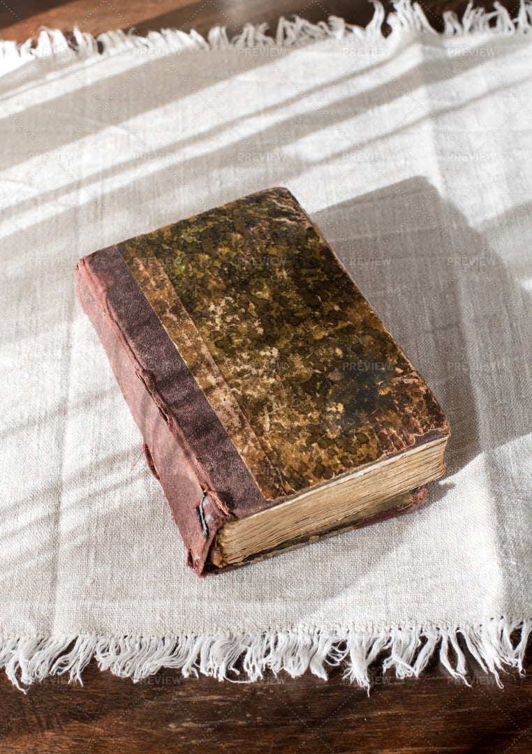 Old Hardback Book: Stock Photos
