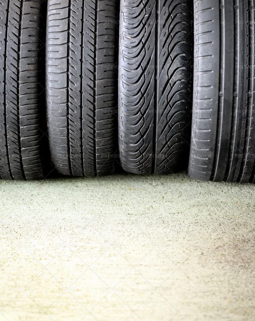 Car Tyres: Stock Photos