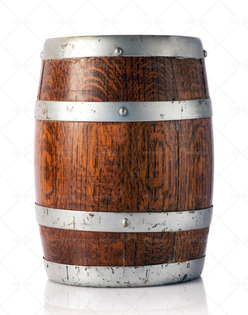 Oak Barrel: Stock Photos