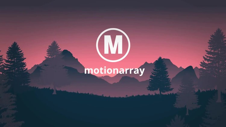 Landscape Logo Reveal: After Effects Templates