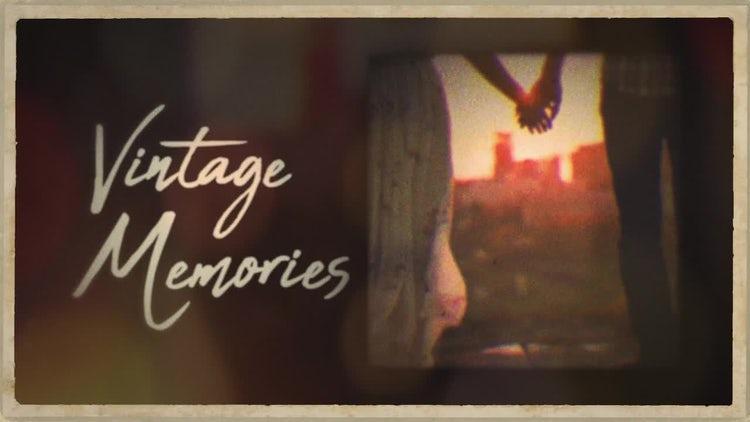 Vintage Memories: Premiere Pro Templates