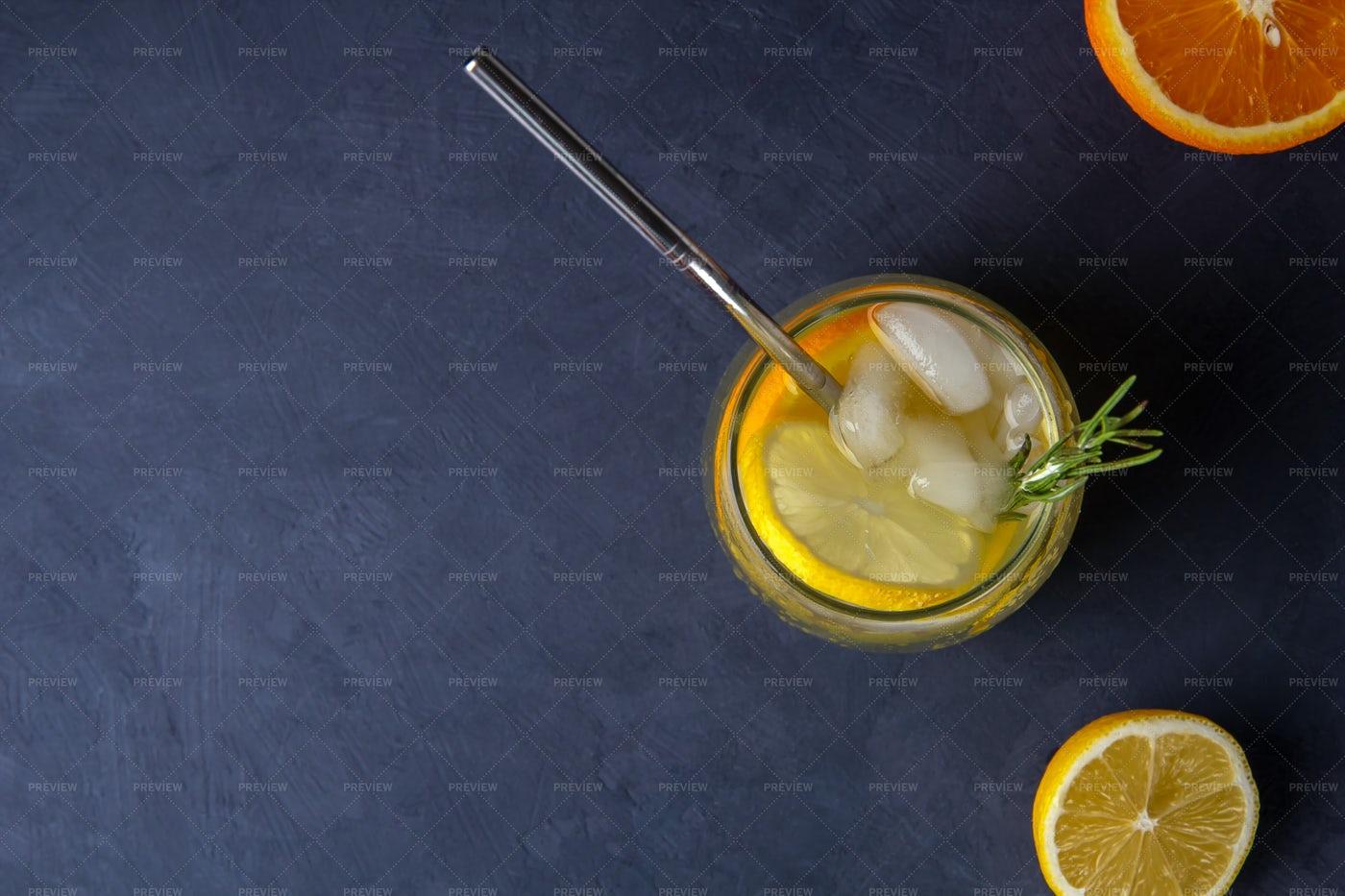 Glass Of Lemonade: Stock Photos