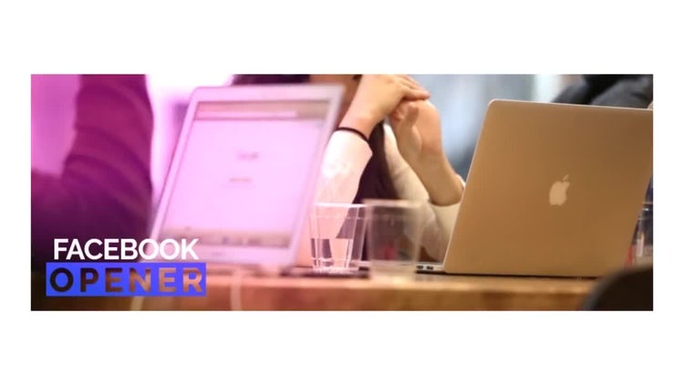 Promo For Facebook Video Cover: After Effects Templates