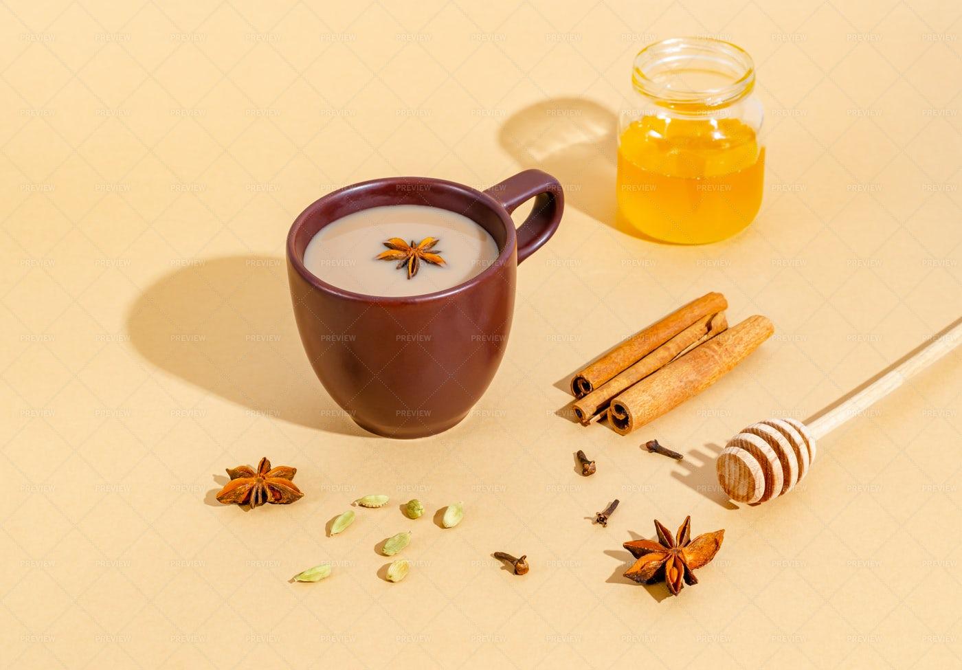 Masala Tea: Stock Photos