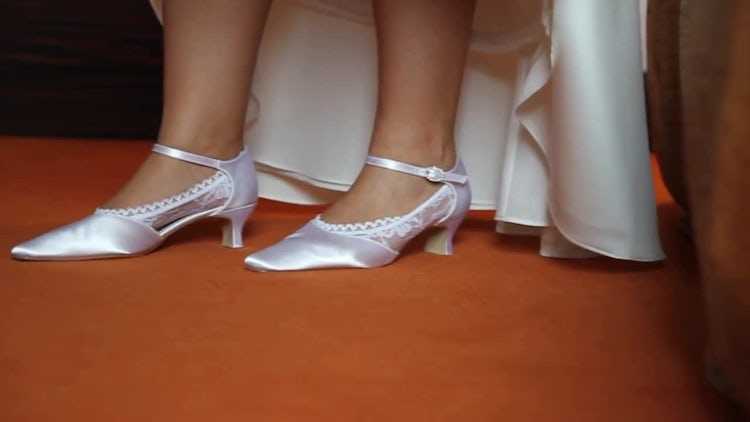 Wedding Shoes: Stock Video