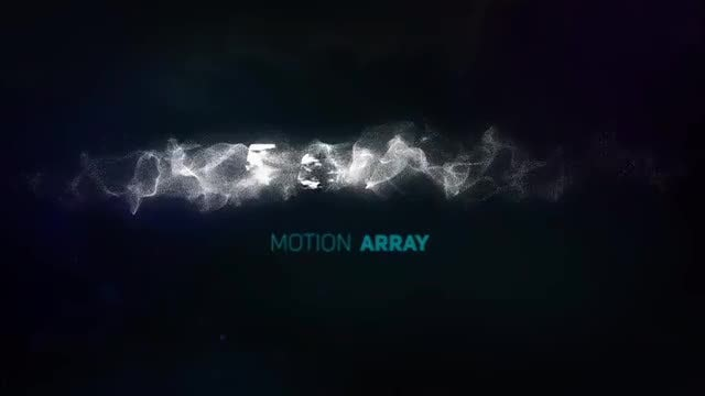 Logo Particle 02: After Effects Templates