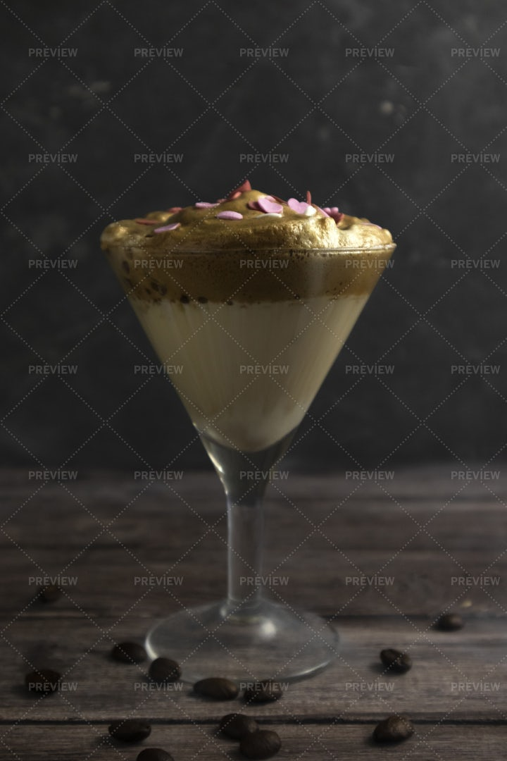Dalgona Coffee: Stock Photos