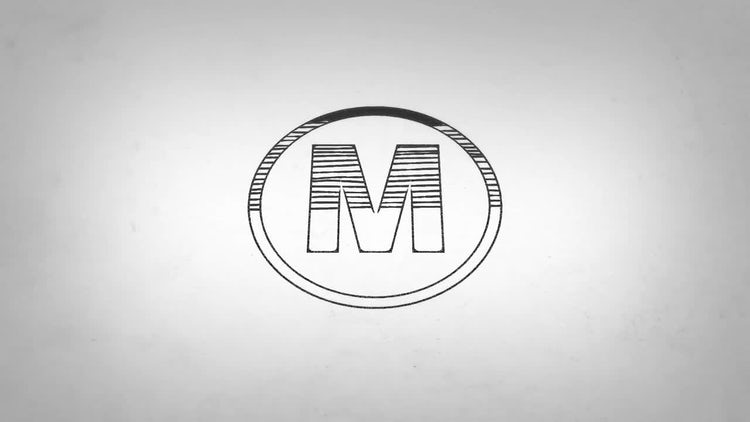 Drawing Logo Reveal: After Effects Templates