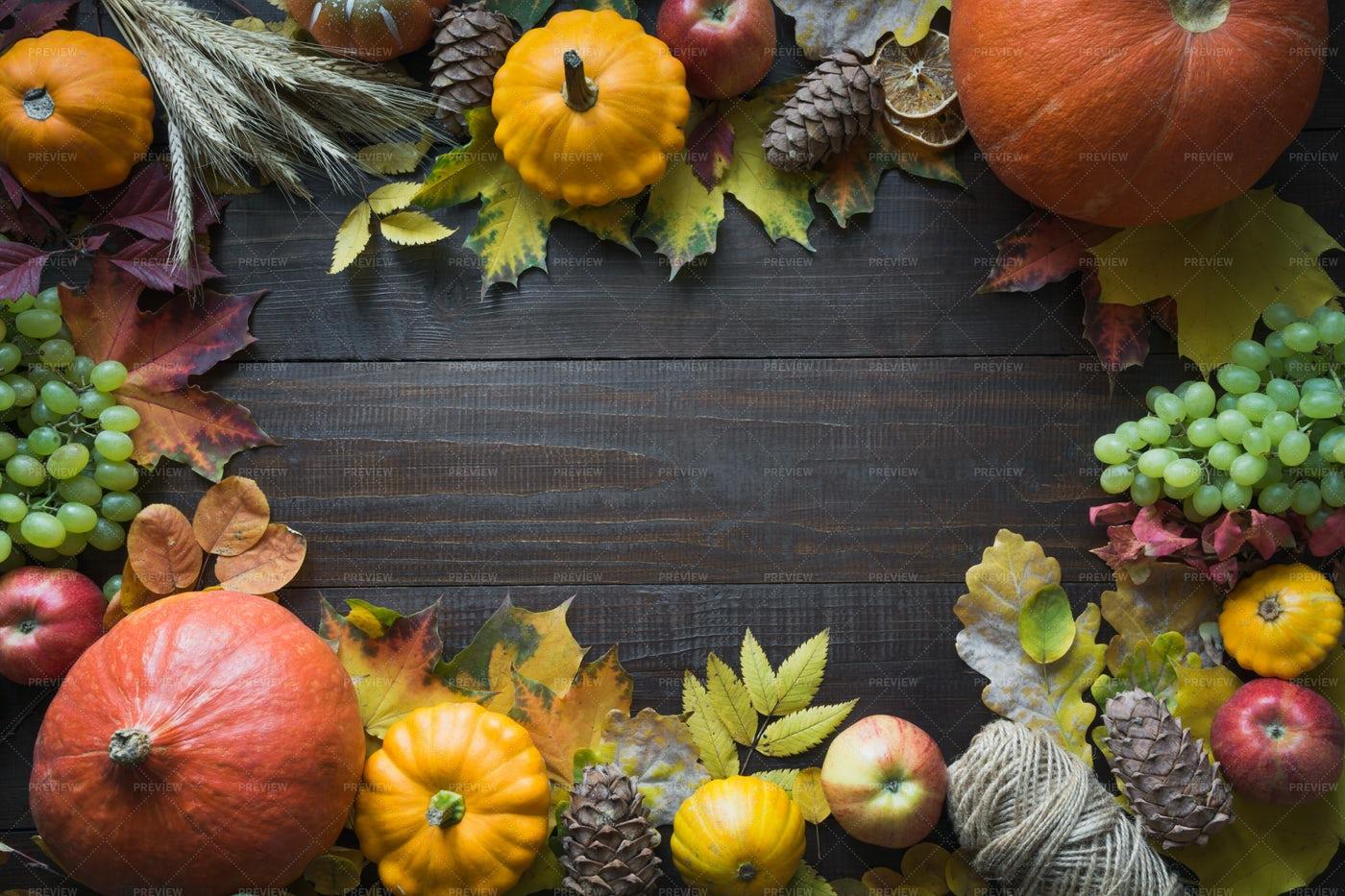 An Autumn Harvest: Stock Photos