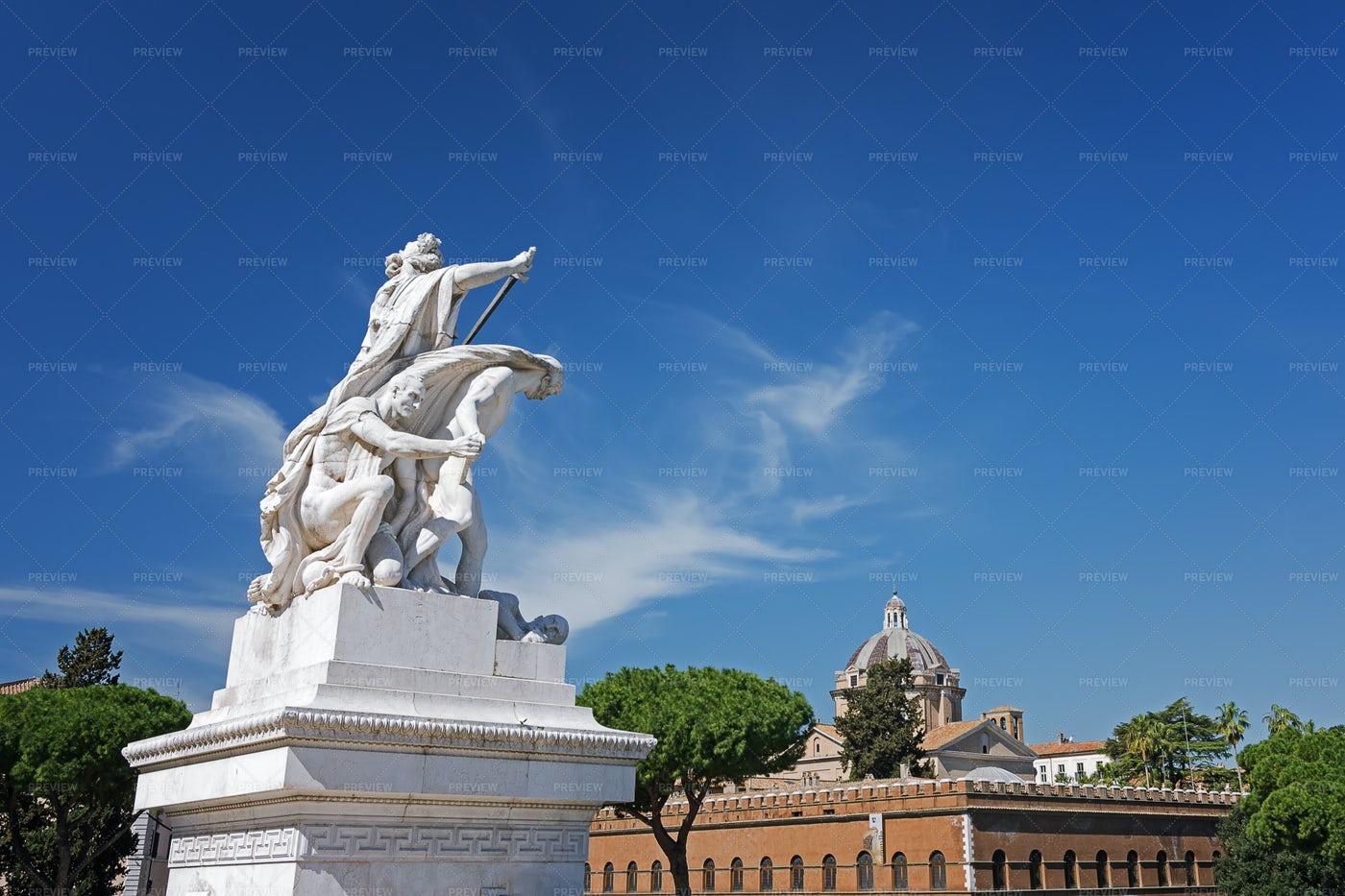 A Rome Monument: Stock Photos