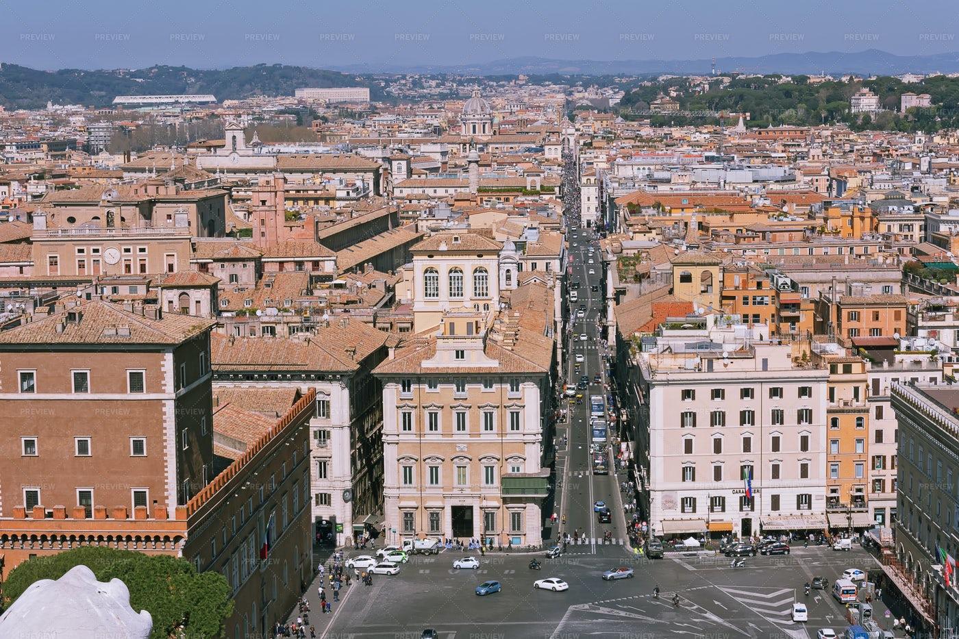 The Rome Cityscape: Stock Photos