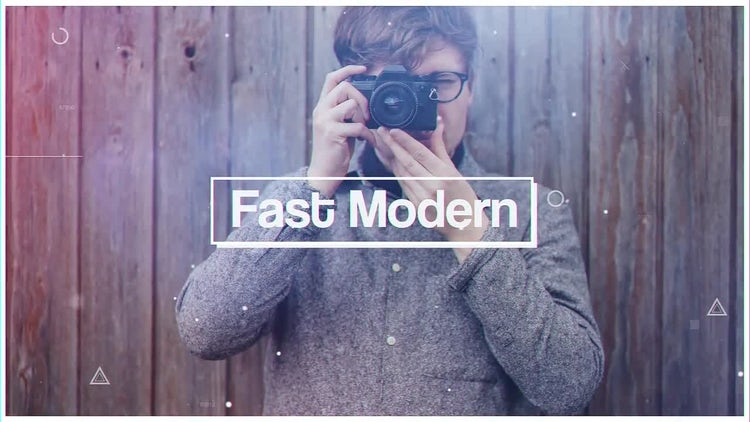 Fast Modern: After Effects Templates