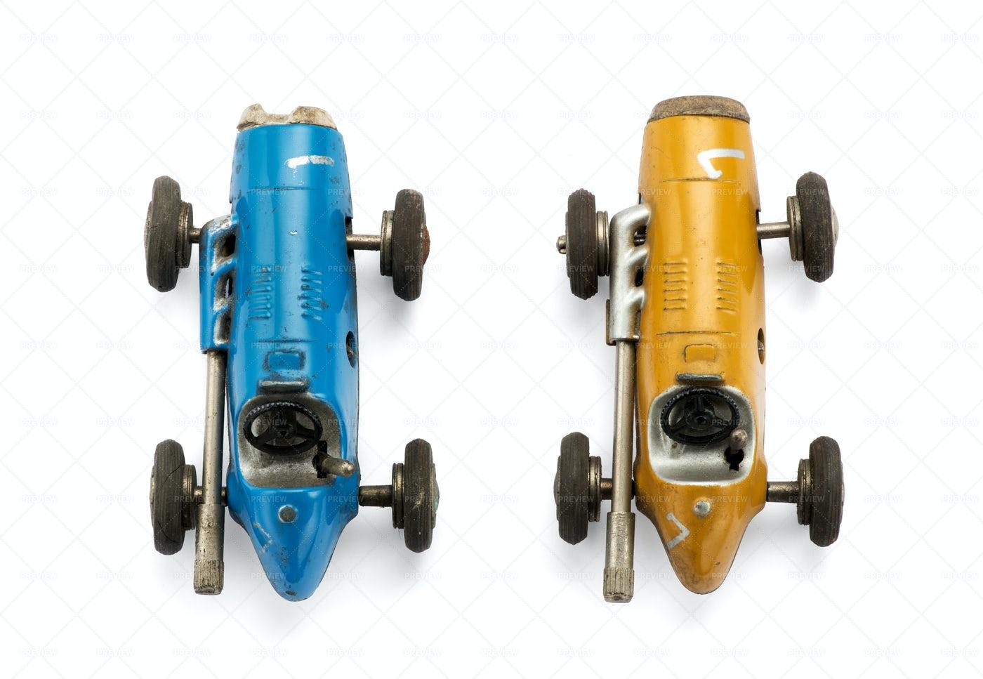 Toy Racing Cars: Stock Photos