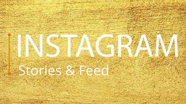 Instagram Stories & Feed Template: Premiere Pro Templates