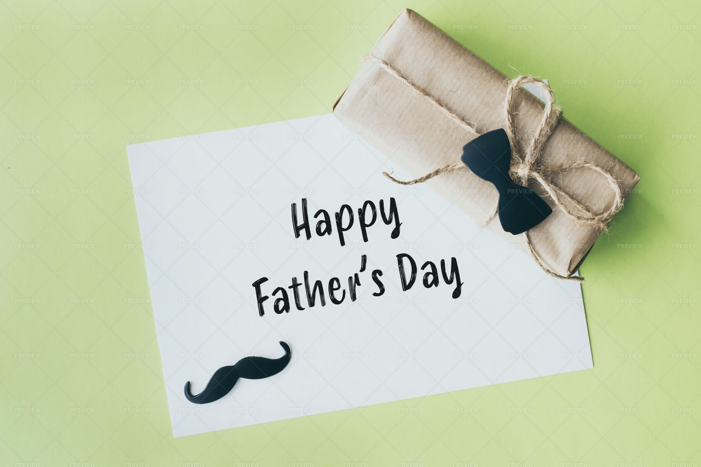 Father's Day Card: Stock Photos