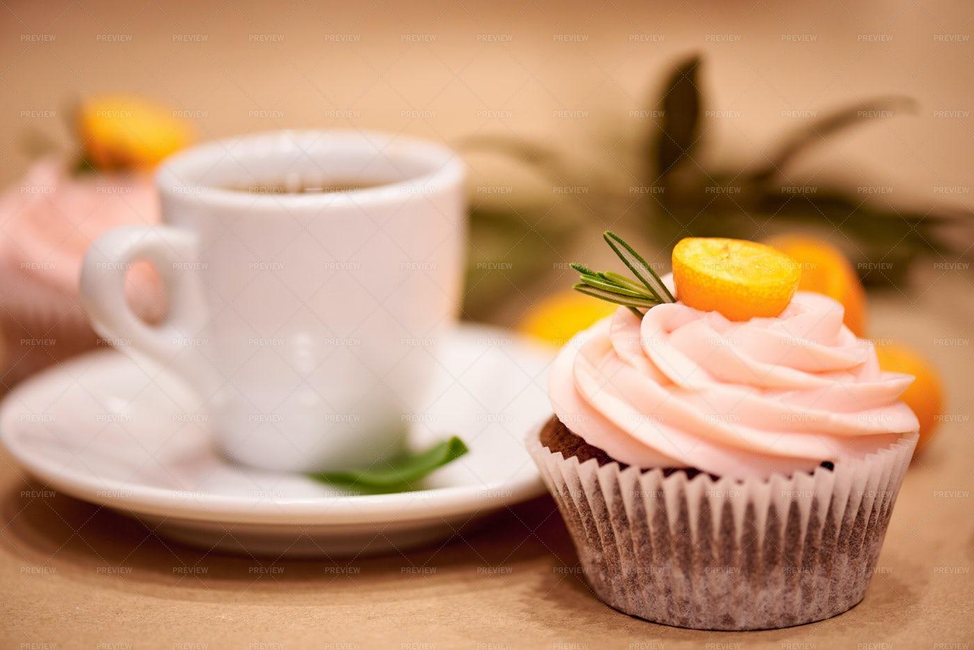 Coffee And Dessert: Stock Photos