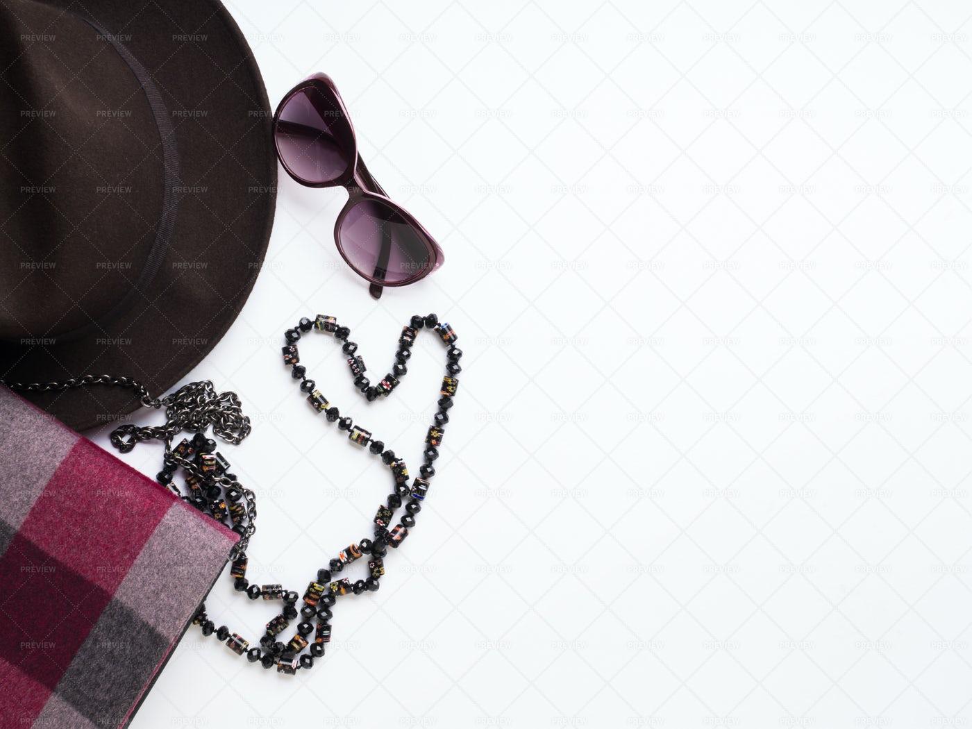 Autumn Fashion Accessories: Stock Photos