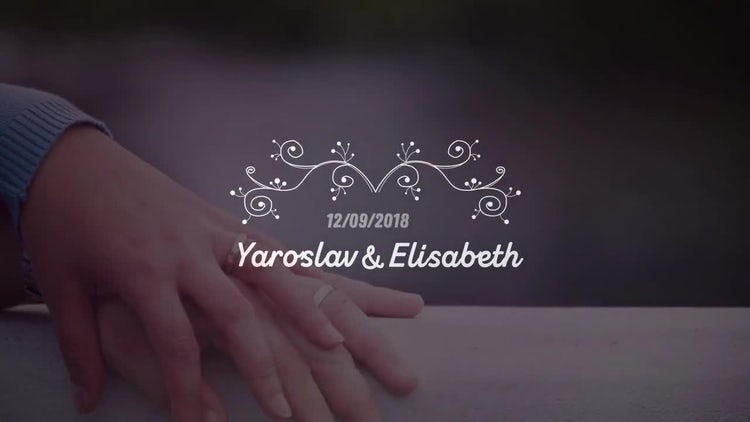 Wedding Titles Big Pack: After Effects Templates