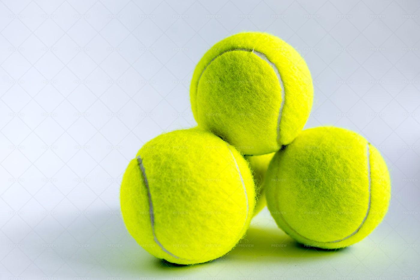 Tennis Balls: Stock Photos
