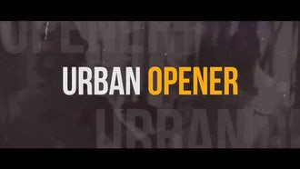 Dynamic Urban Opener: Premiere Pro Templates