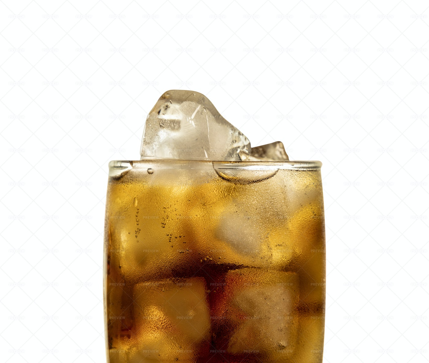 Cola With Ice: Stock Photos
