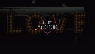 Valentine Titles: After Effects Templates