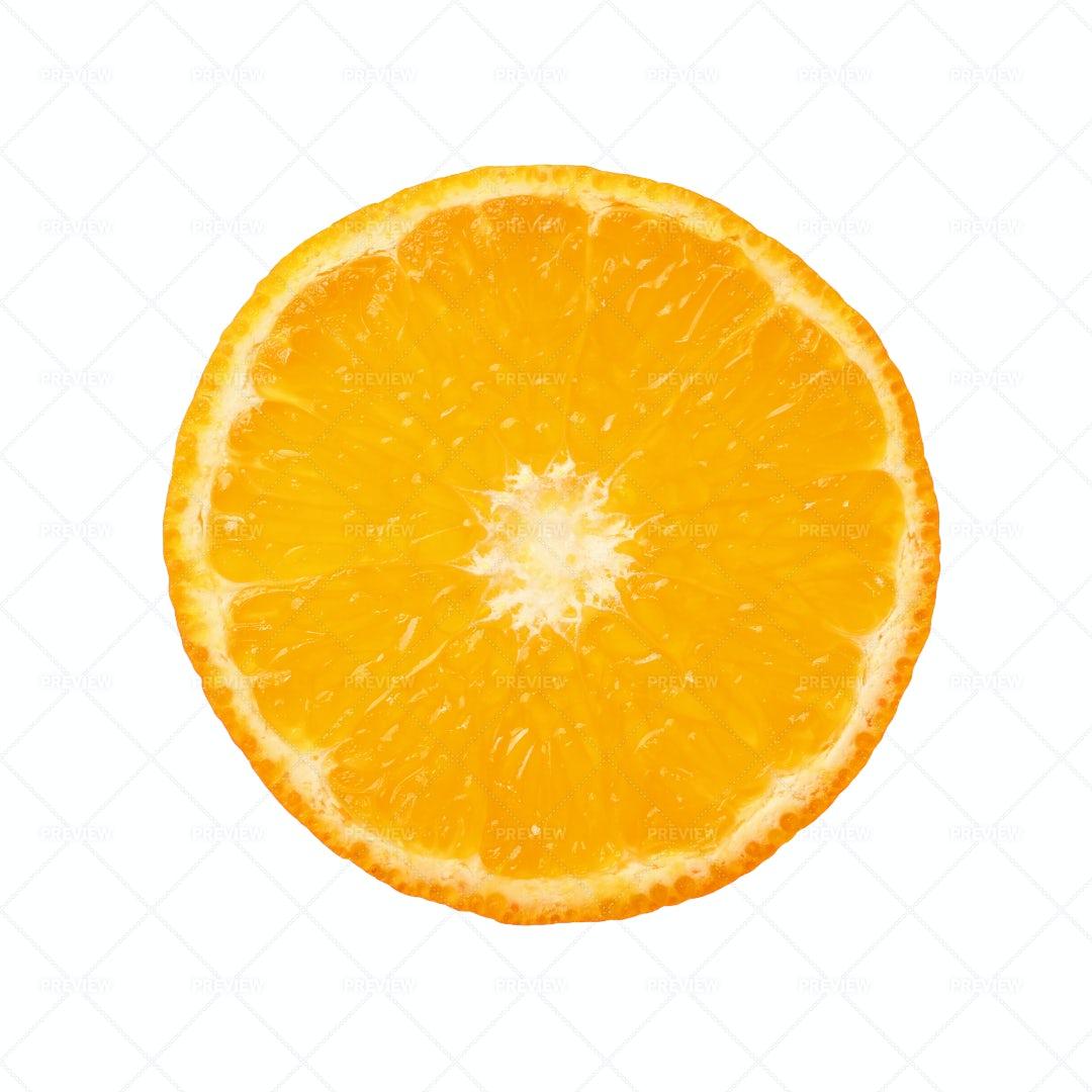 Slice Of Orange: Stock Photos