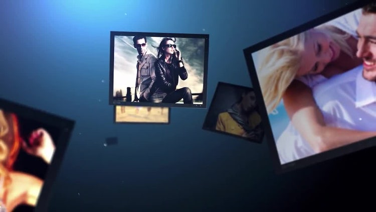 Falling Photos: After Effects Templates