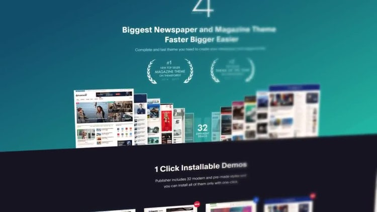 Dynamic Website Promo: After Effects Templates