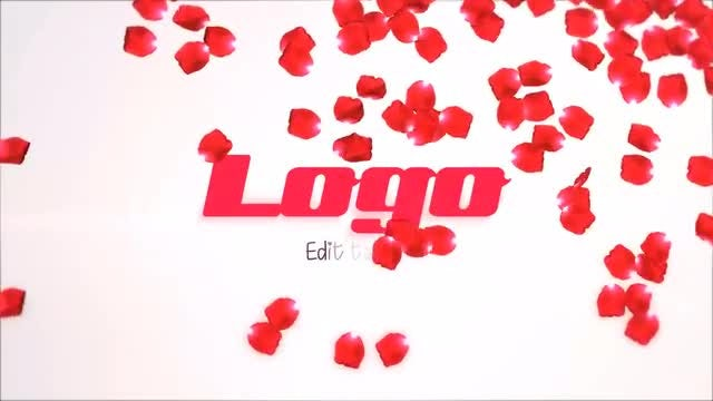 Rose Petals Logo: After Effects Templates