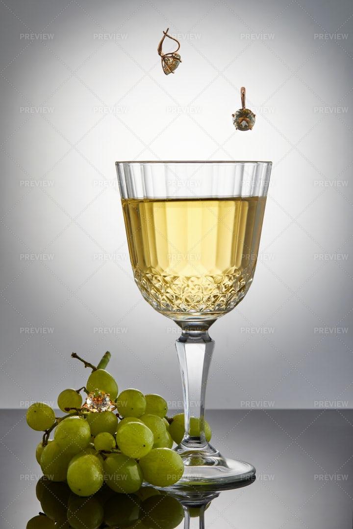 White Wine: Stock Photos