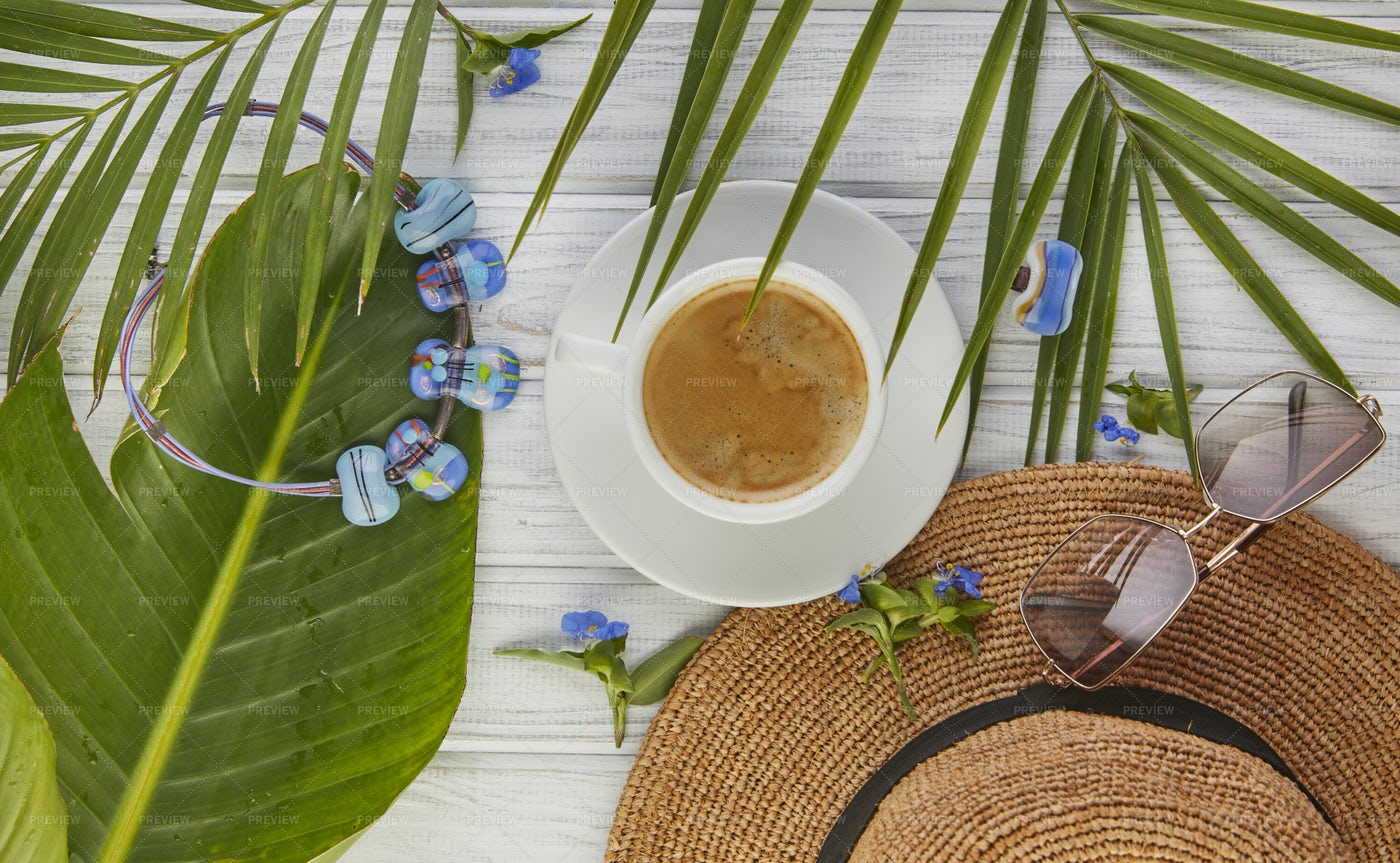 Summer Coffee: Stock Photos