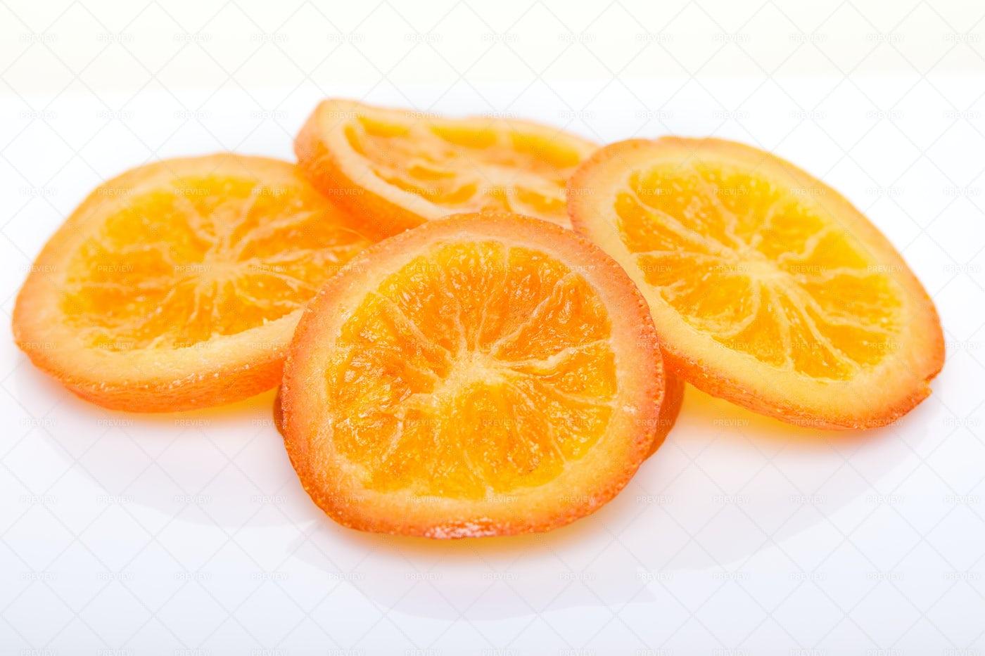 Thin Citrus Slices: Stock Photos
