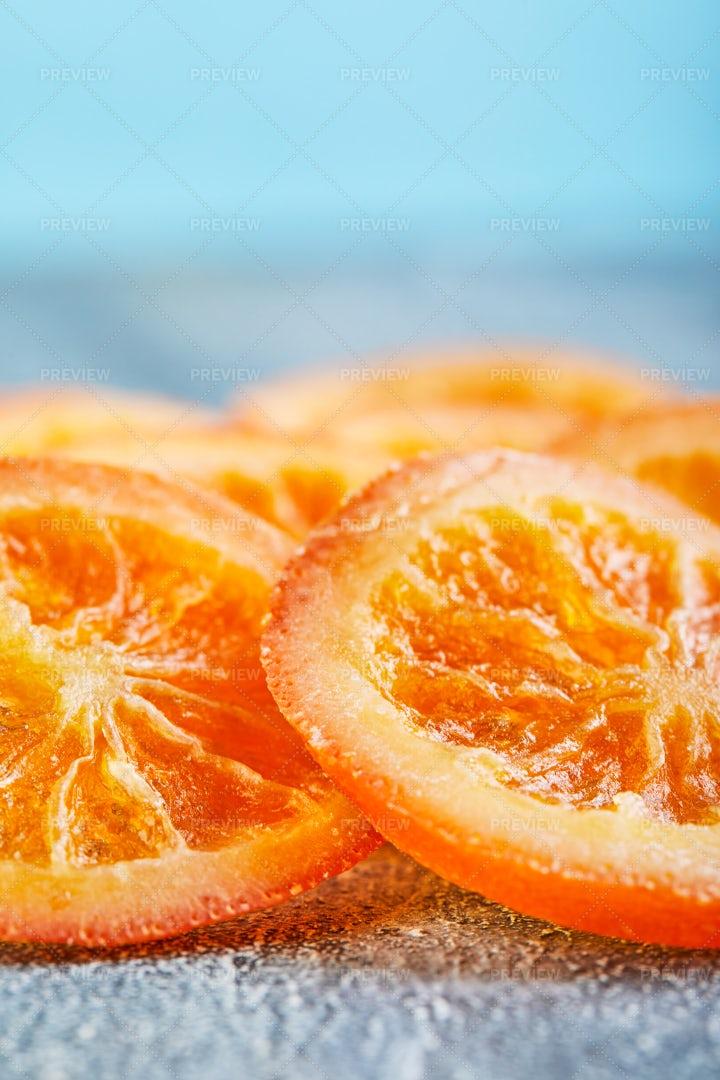 Dried Oranges: Stock Photos