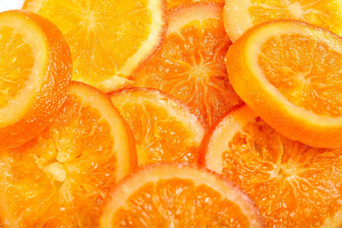 Collection Of Orange Slices: Stock Photos