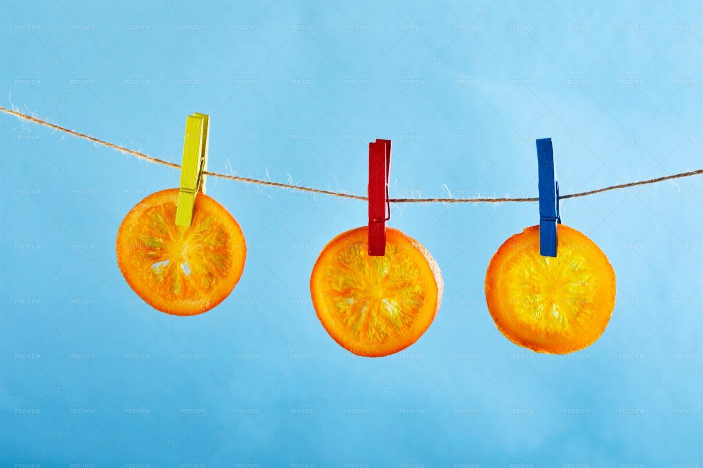Dried Tangerines: Stock Photos