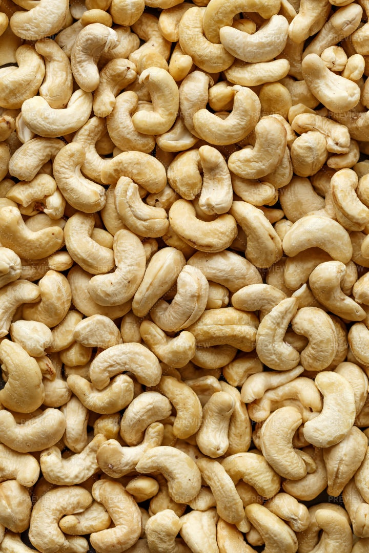 Cashew Nuts Background: Stock Photos