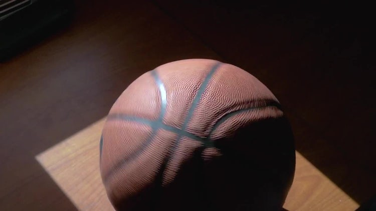 Spinning Basketball: Stock Video