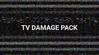 TV  Damage Pack: Motion Graphics