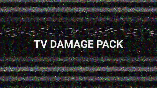 TV  Damage Pack: Stock Motion Graphics