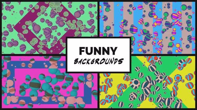 Funny Backgrounds Pack: Stock Motion Graphics