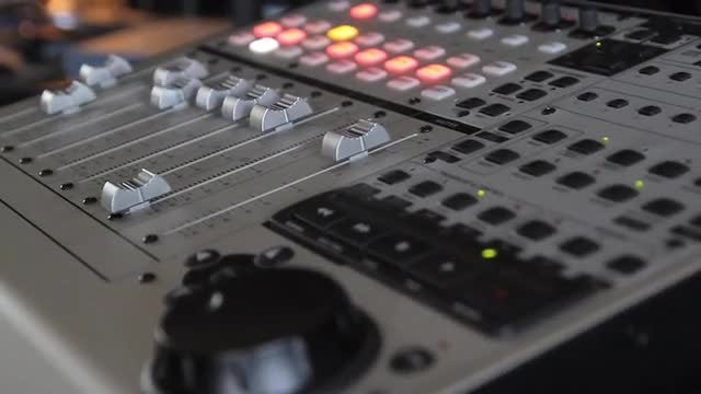 Audio Mixer : Stock Video