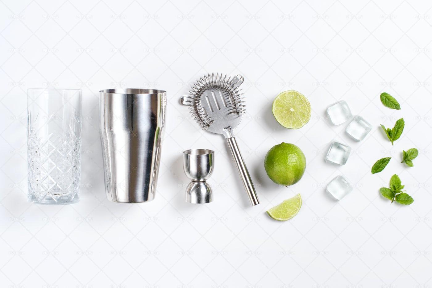 Mojito Ingredients: Stock Photos