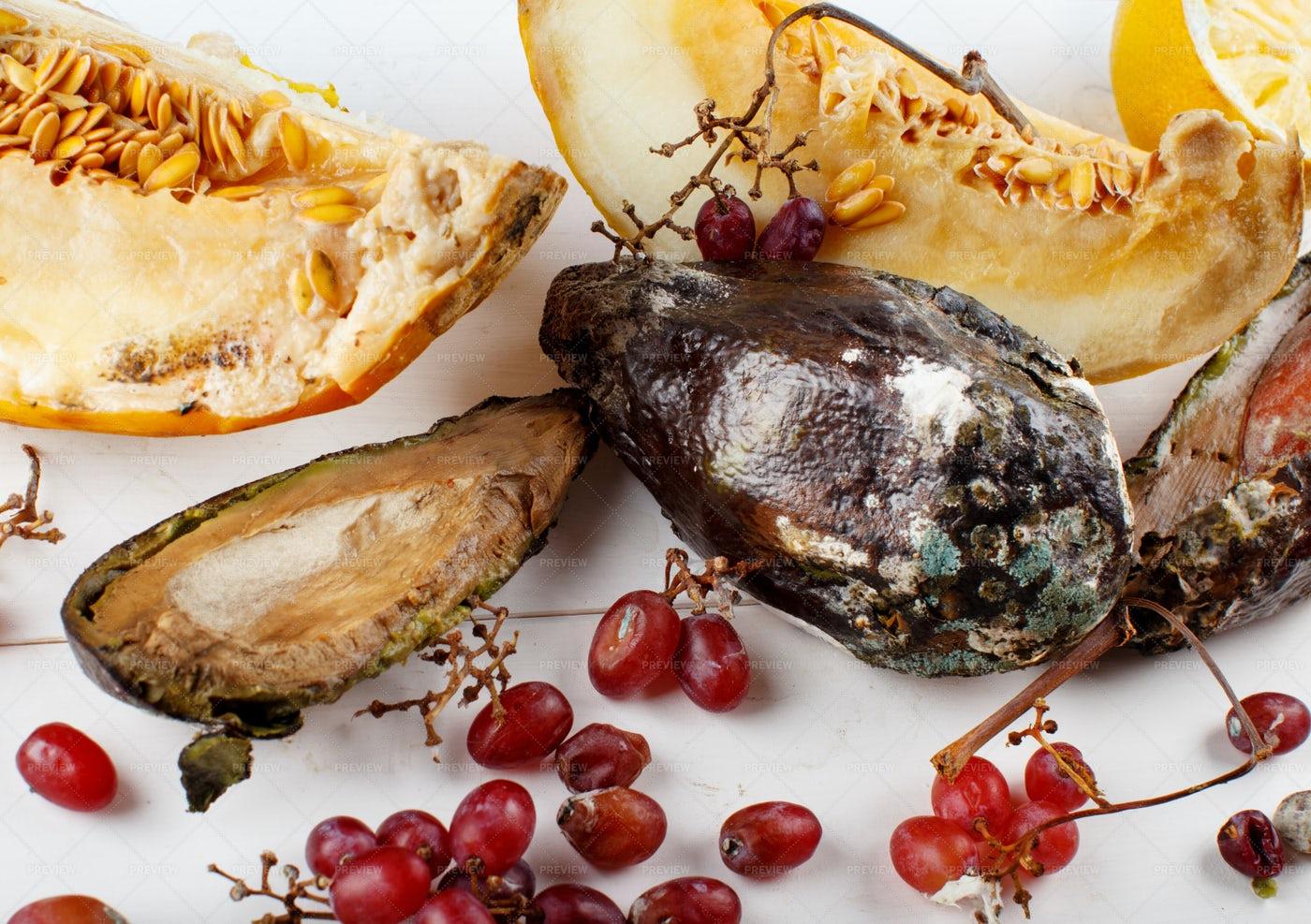 Rotting Fruit: Stock Photos