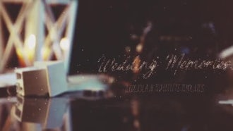 Vintage Wedding Memories: After Effects Templates