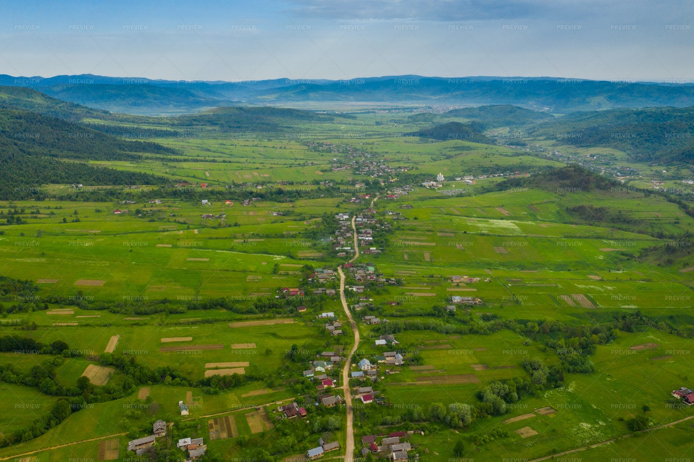 Carpathian Valley: Stock Photos