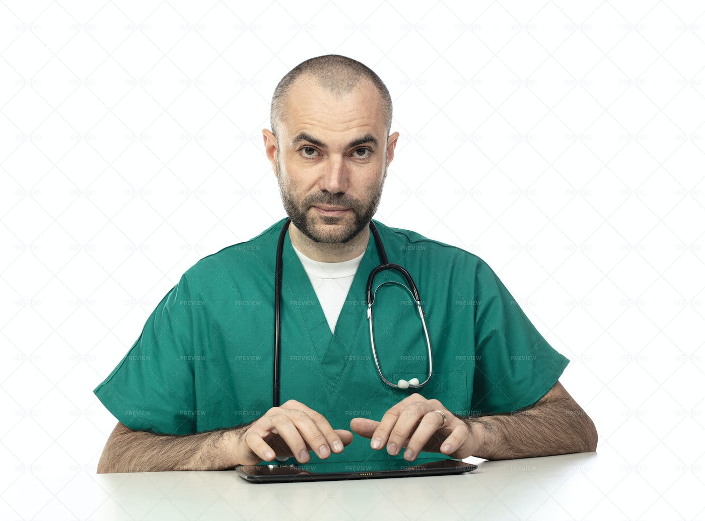 Portrait Of A Doctor: Stock Photos
