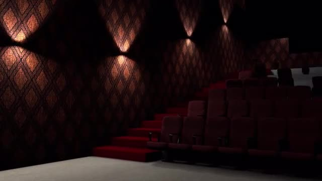 Movie Theater Opener: Stock Motion Graphics