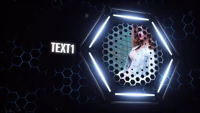 Hexagon Opener: After Effects Templates