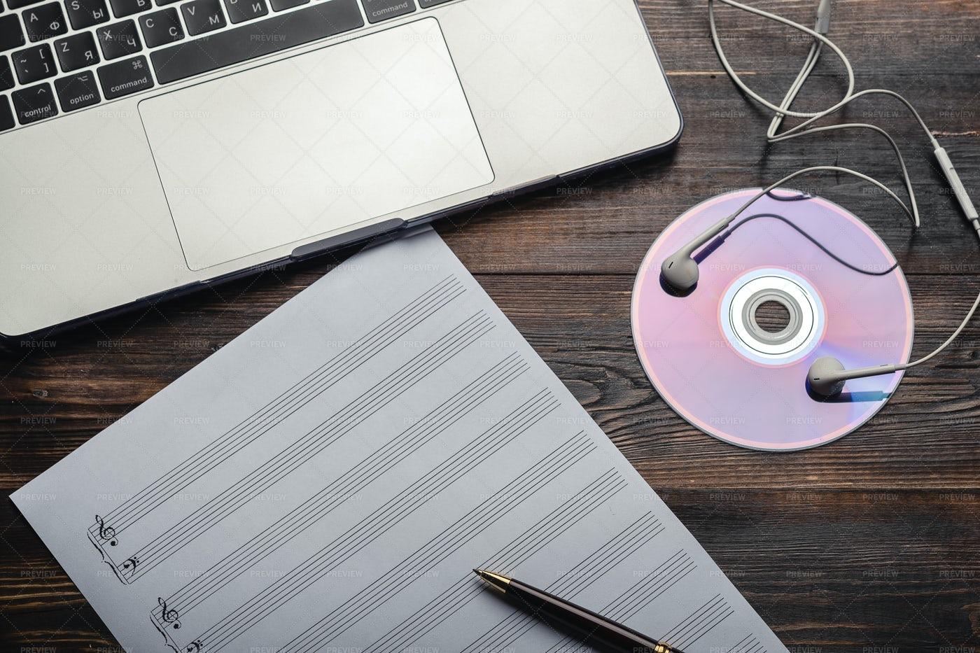 Studing Music: Stock Photos